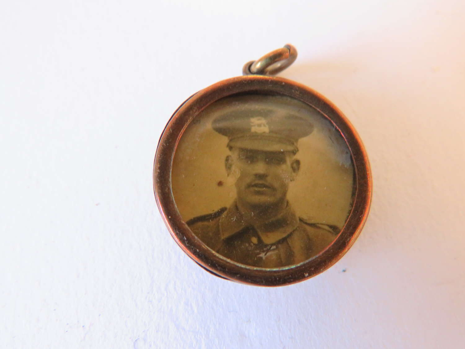 WW 1 Button Sweetheart Locket