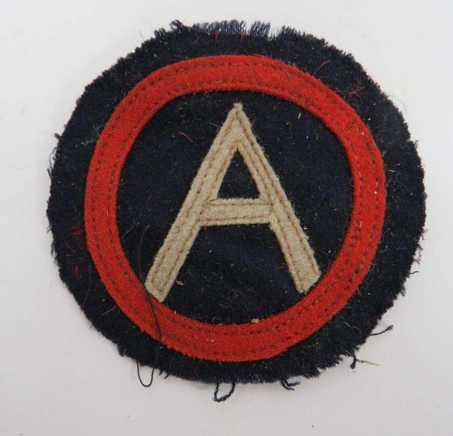 WW 1 American Divisional Badge