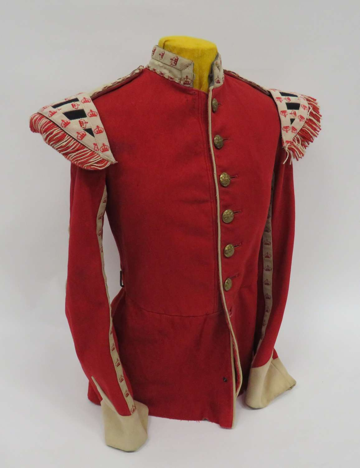 Post 1901 Infantry Musicians Band Dress Tunic
