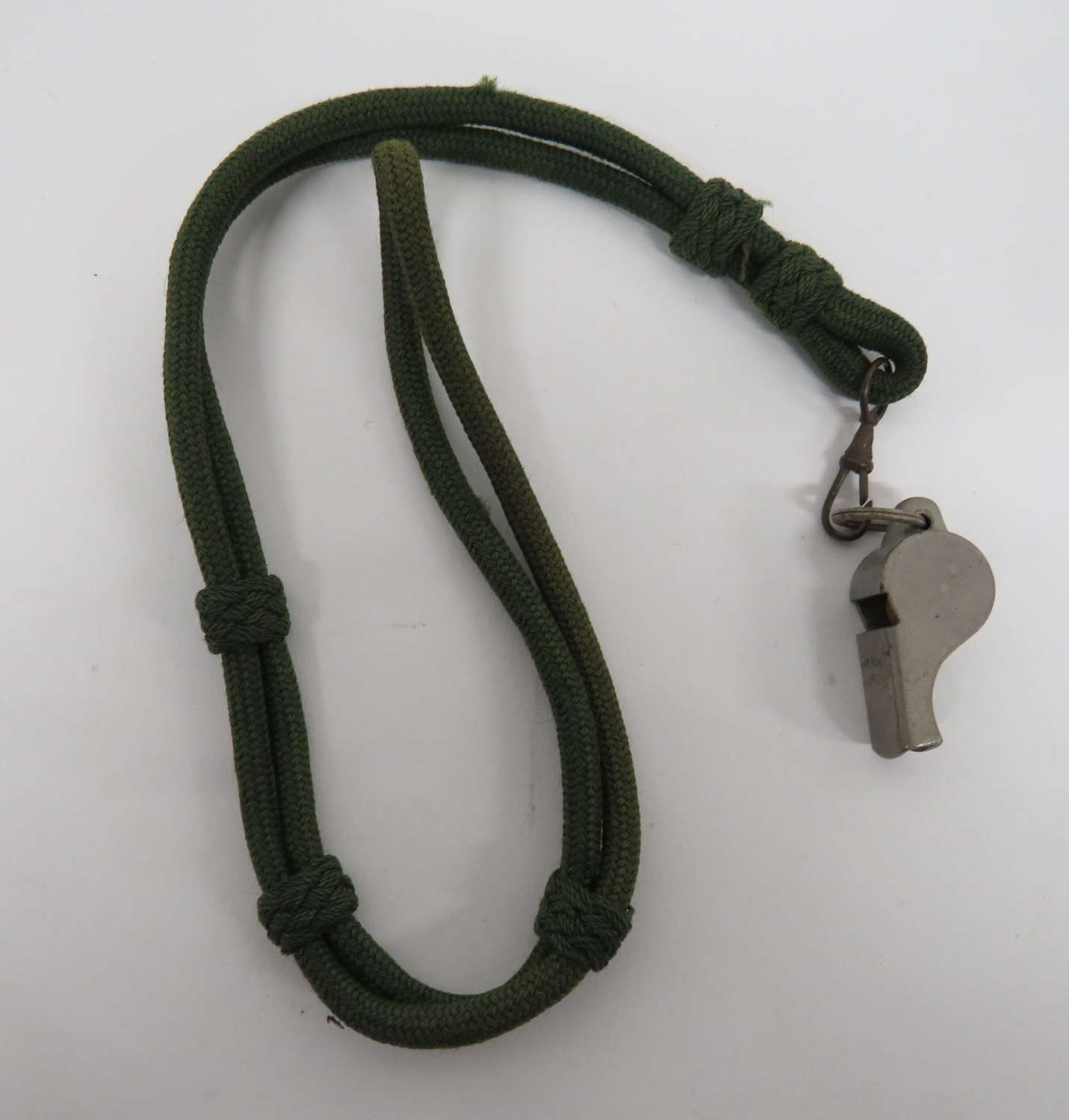 Rifles Officers Lanyard and Whistle