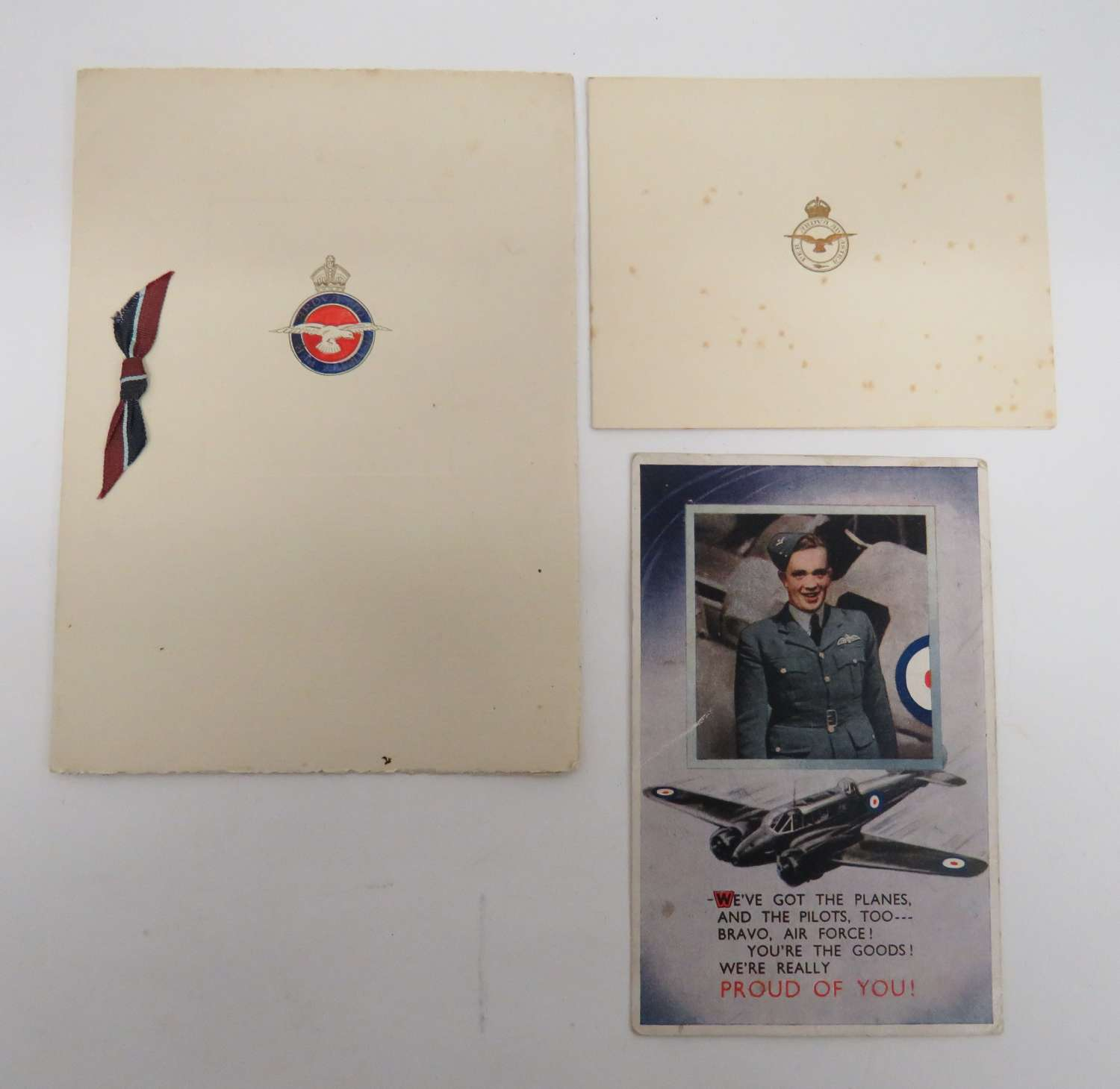 Small Selection of R.A.F Cards