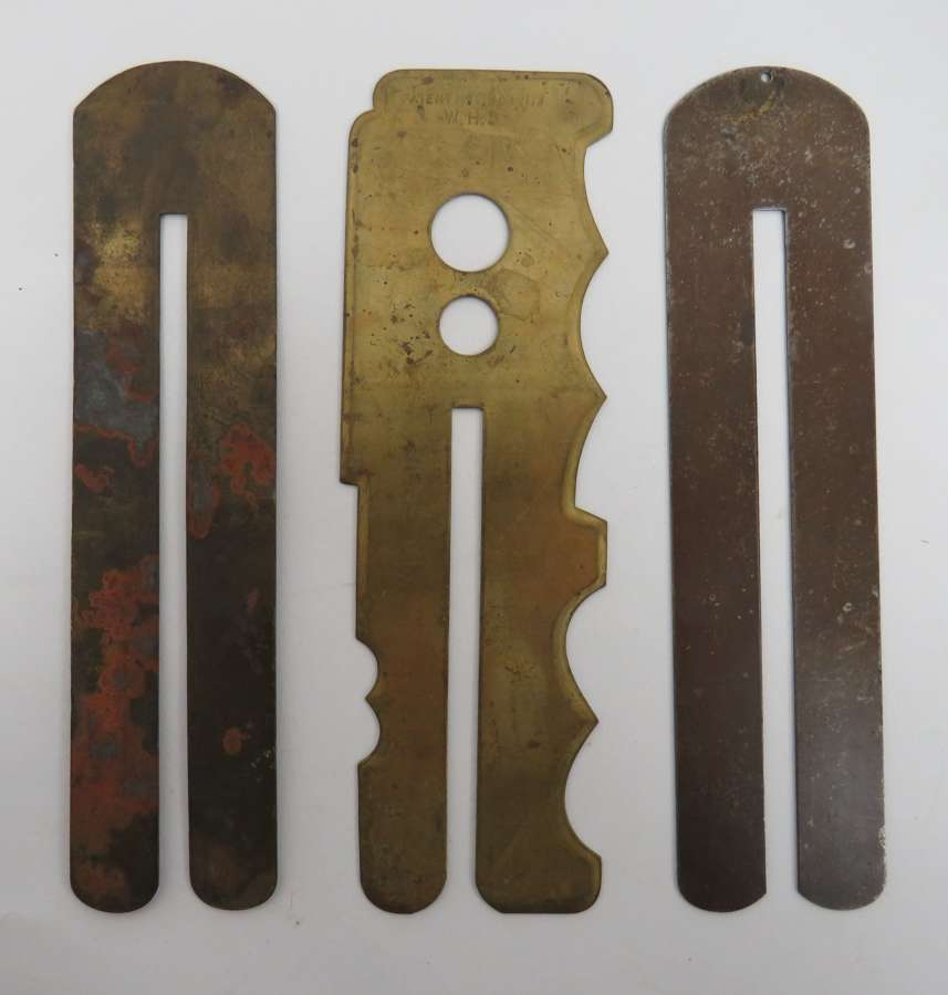 Three Various Button Sticks