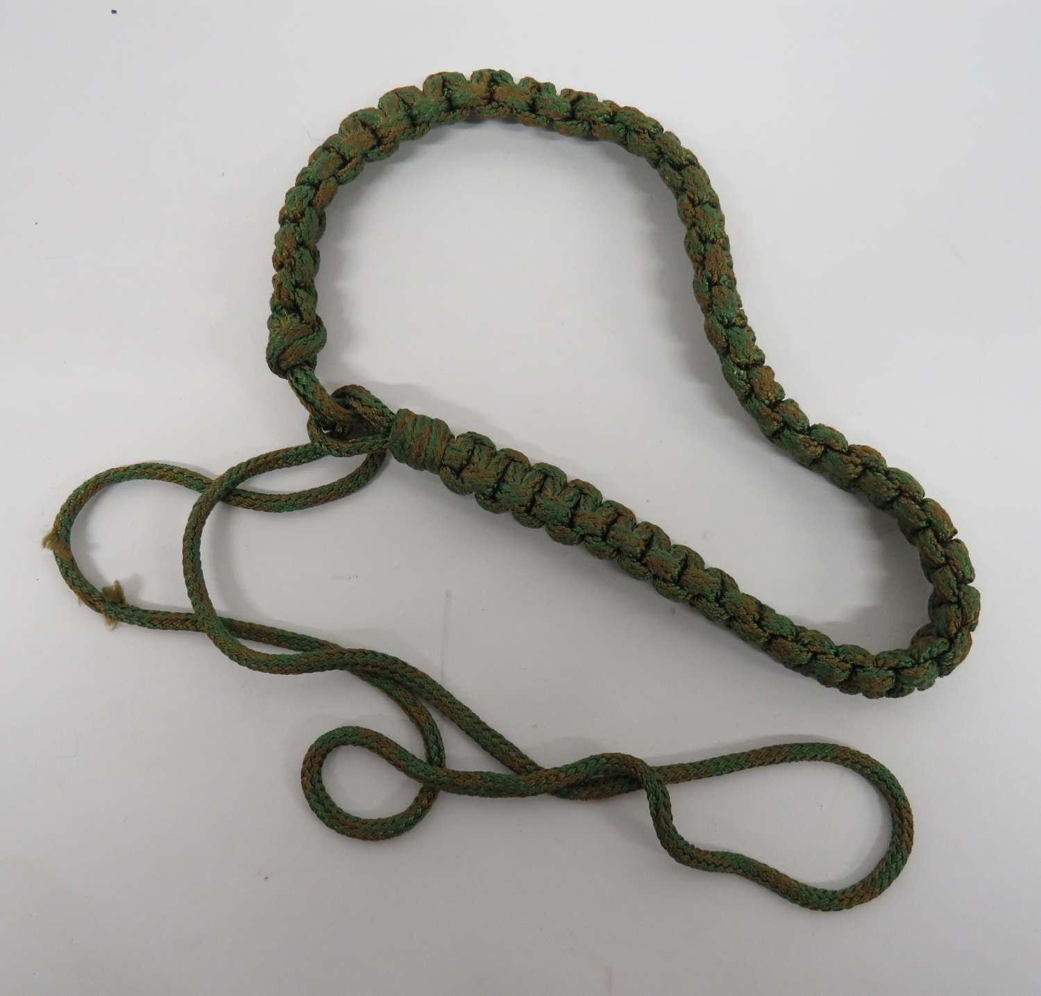 Coloured Military Lanyard