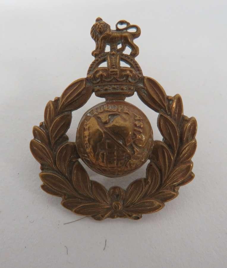 Pre 1953 Royal Marines Beret Badge