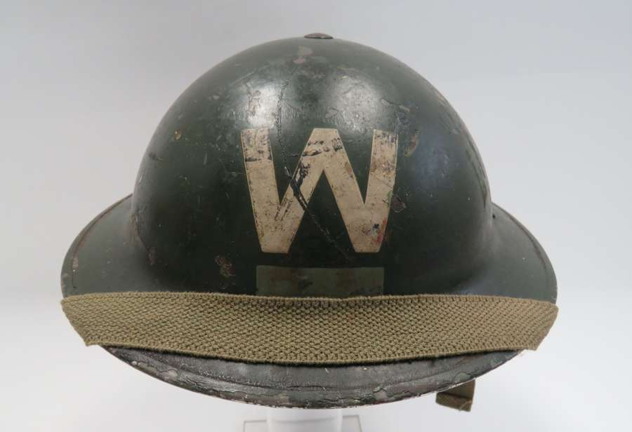 Wardens Helmet With District Bar