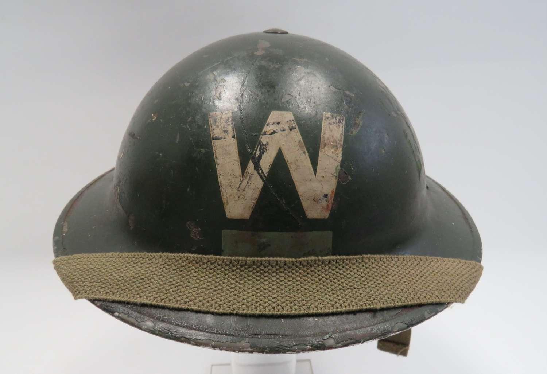 Wardens Helmet With District Bar