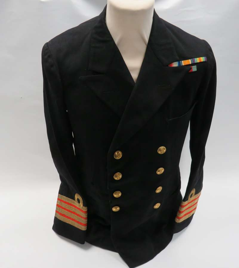 WW 2 Royal Navy Surgeon Captains Tunic
