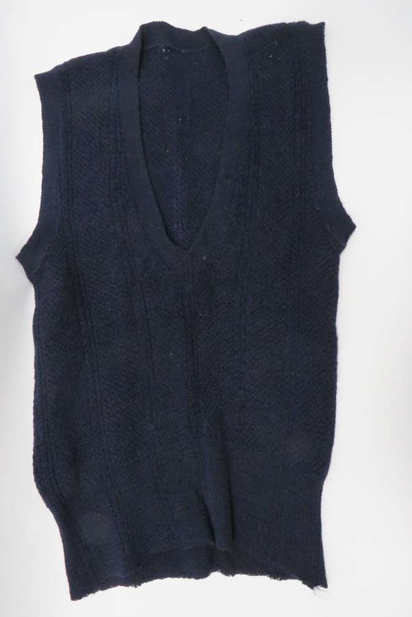 Scarce Royal Navy Officers Sleeveless Jumper