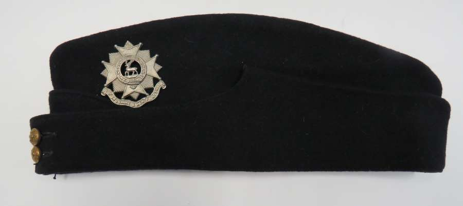 Bedfordshire and Hertfordshire Coloured Field Service Cap
