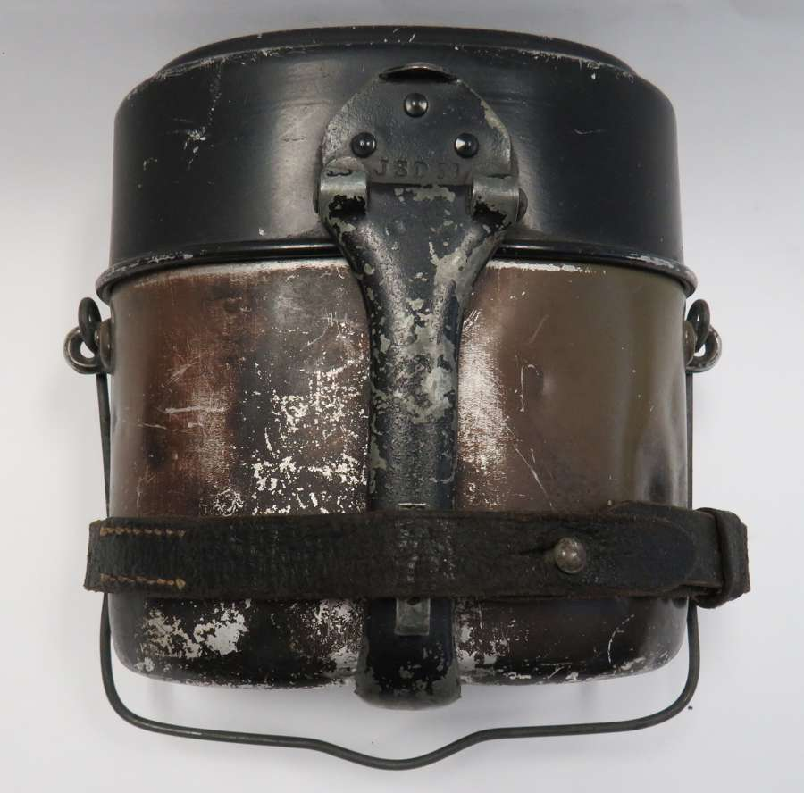 WW 2 German Mess Tin , and Strap