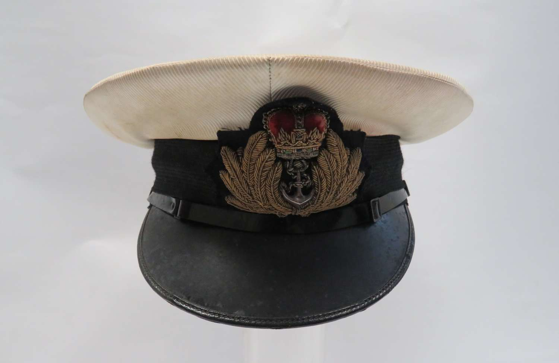 Post 1953 Royal Navy Officers Service Dress Cap