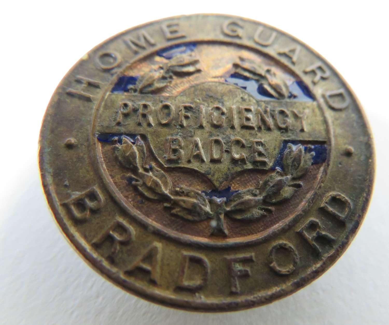 Bradford Home Guard Proficiency Badge
