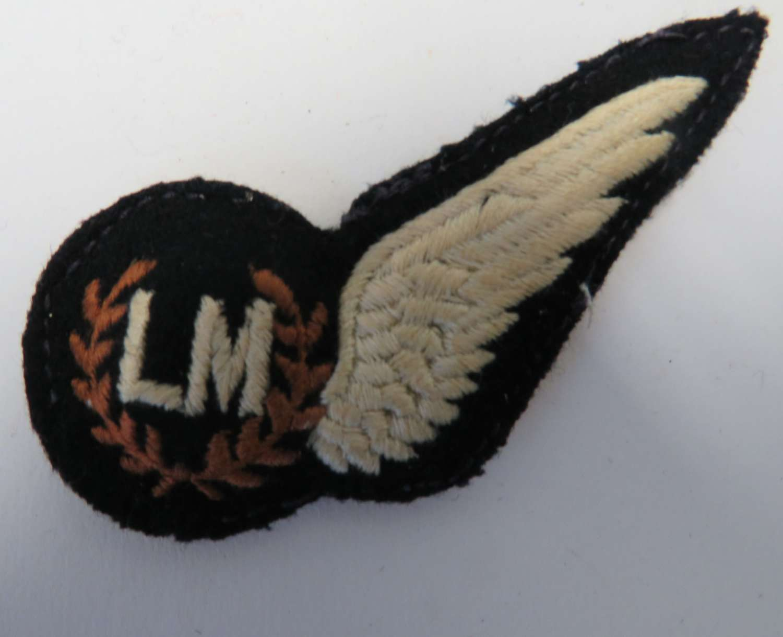 R.A.F Load Master Aircrew Half Wing