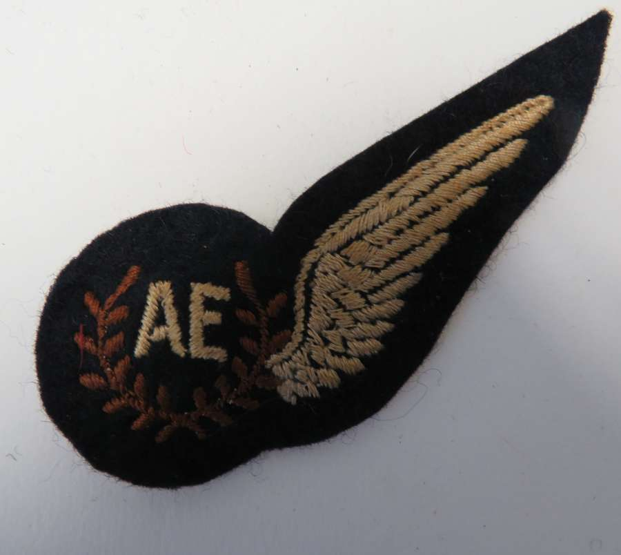 R.A.F Air Electronics Aircrew Half Wing