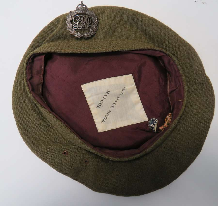 WW 2 Officers Indian General List Beret