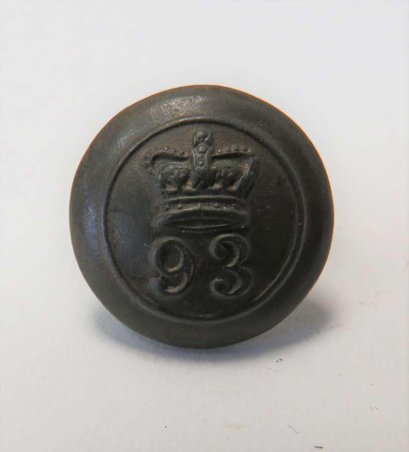 93rd Foot Button
