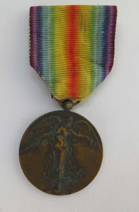 WW 1 Belgium Victory Medal