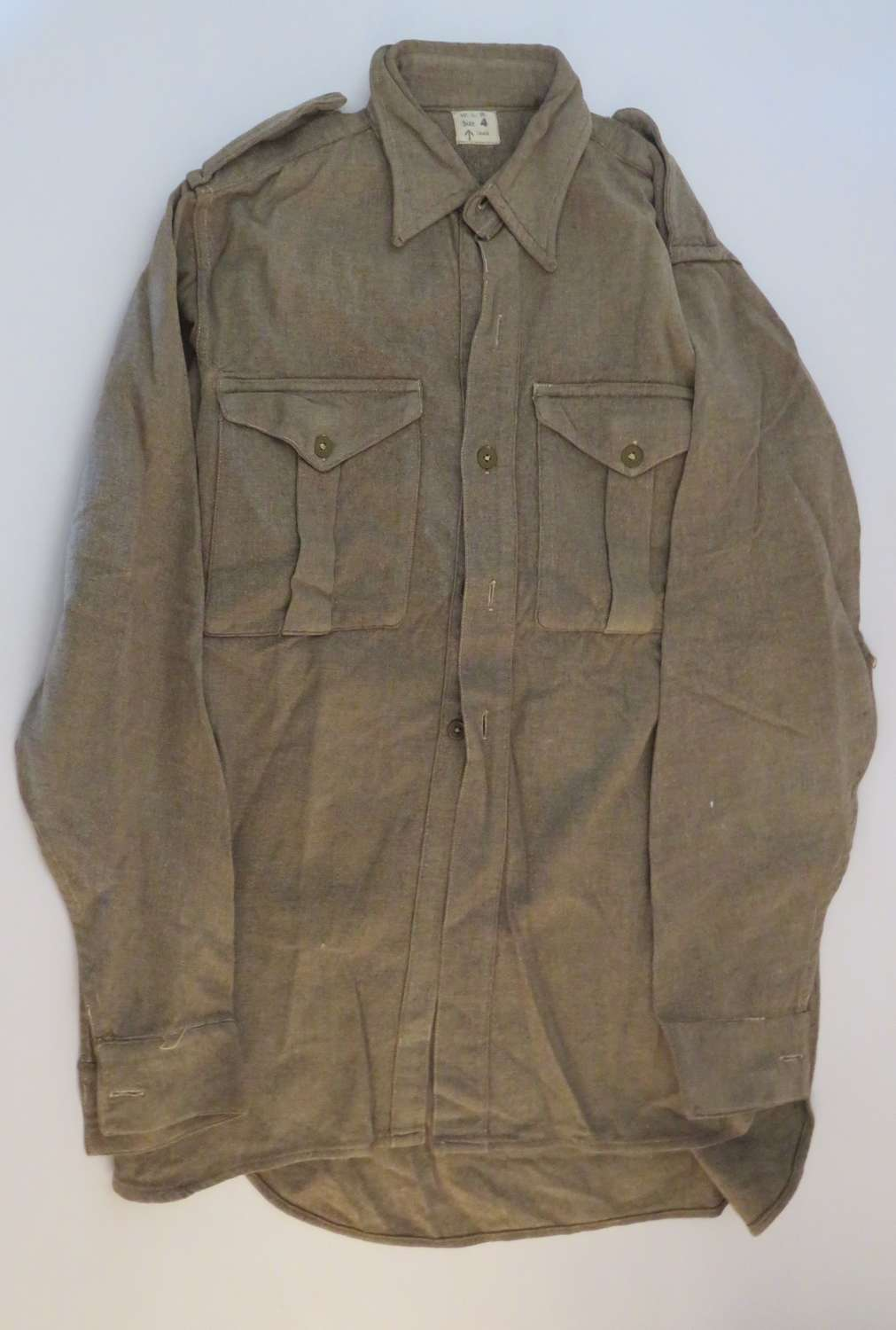 1946 Dated O.Rs British Issue Woollen Shirt