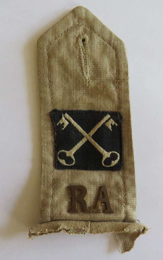 2nd Infantry Division Artillery Tropical Shoulder Strap