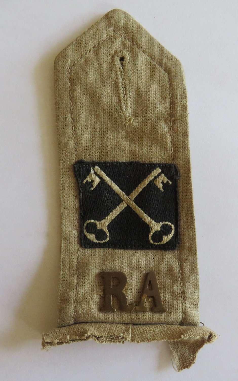 2nd Infantry Division Artillery Tropical Shoulder Strap