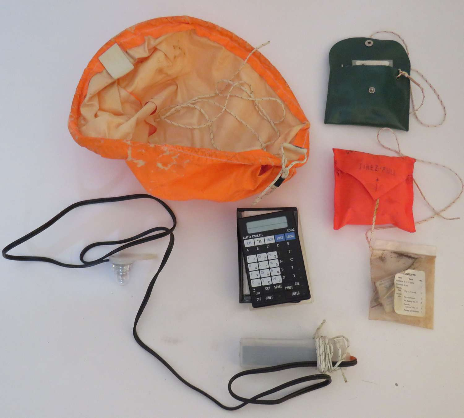 Selection of Modern R.A.F Survival Items