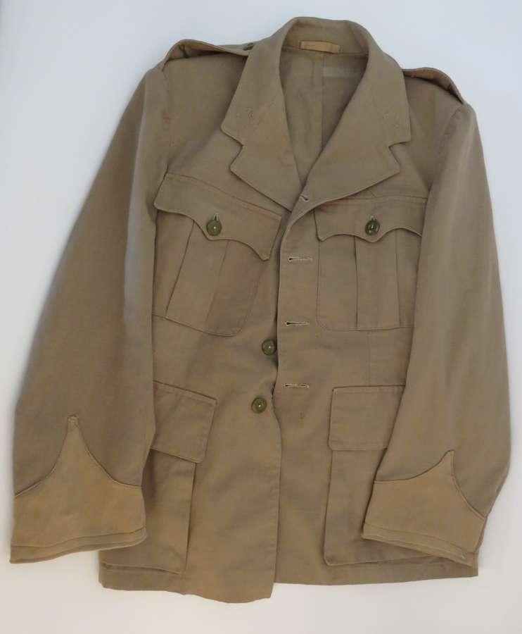 WW 2 Officers Tropical Bush Jacket