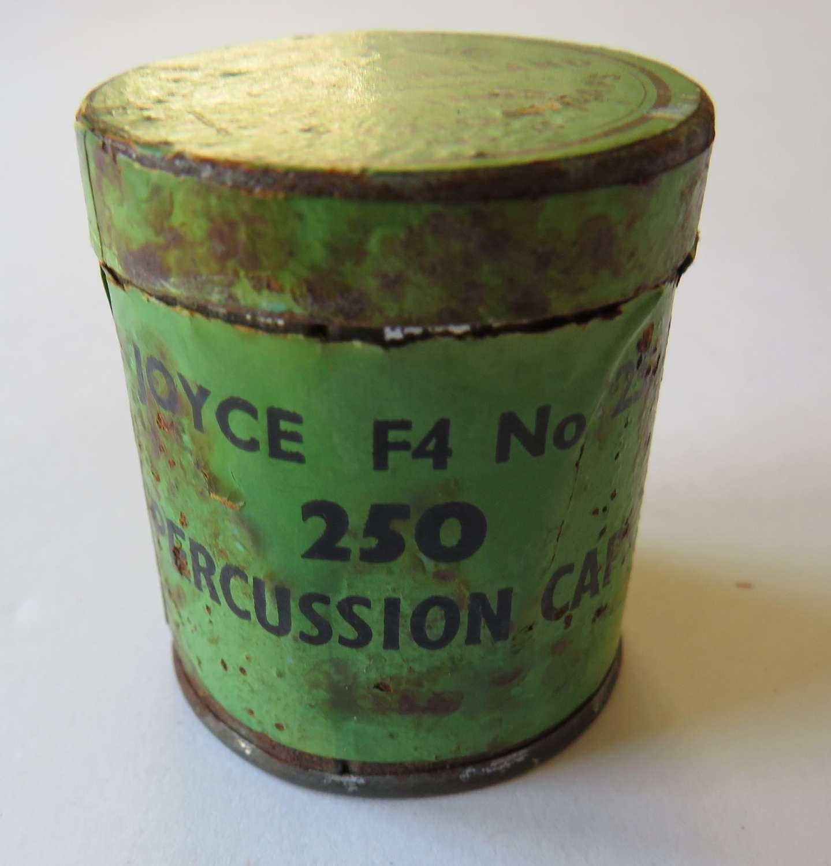 Percussion Cap Tin by Joyce