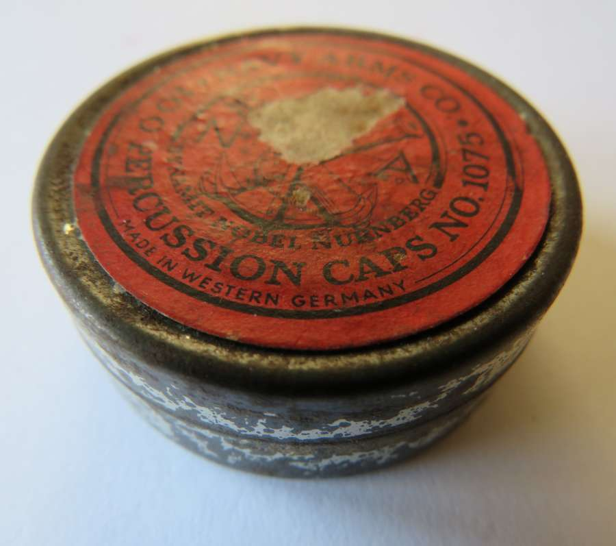 Percussion Cap Tin by Navy Arms co