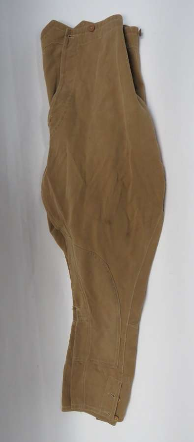 Pair of WW 1 Period Troopers Overseas Service Breeches