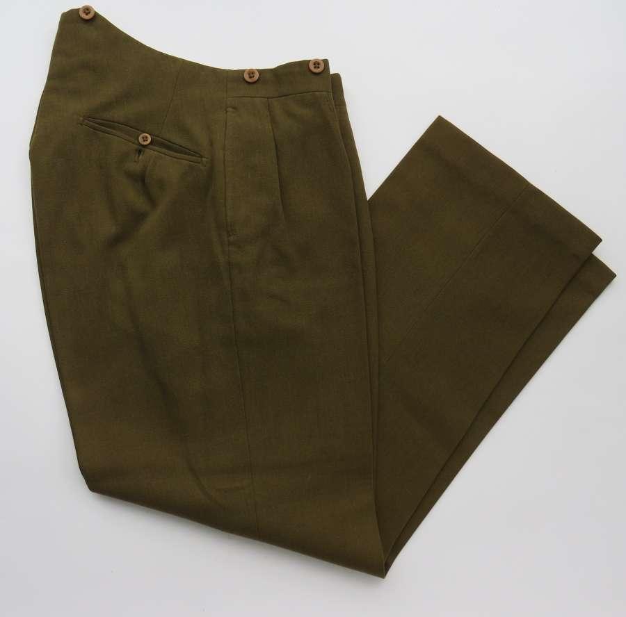 WW 1 Pattern Officers Service Trousers