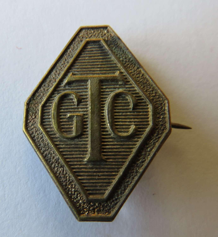 Girls Training Corps Badge