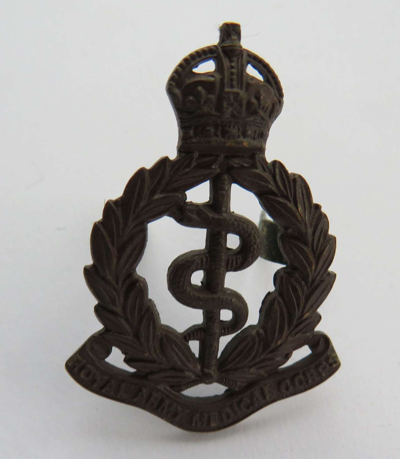 Royal Army Medical Corps Officer Cap Badge