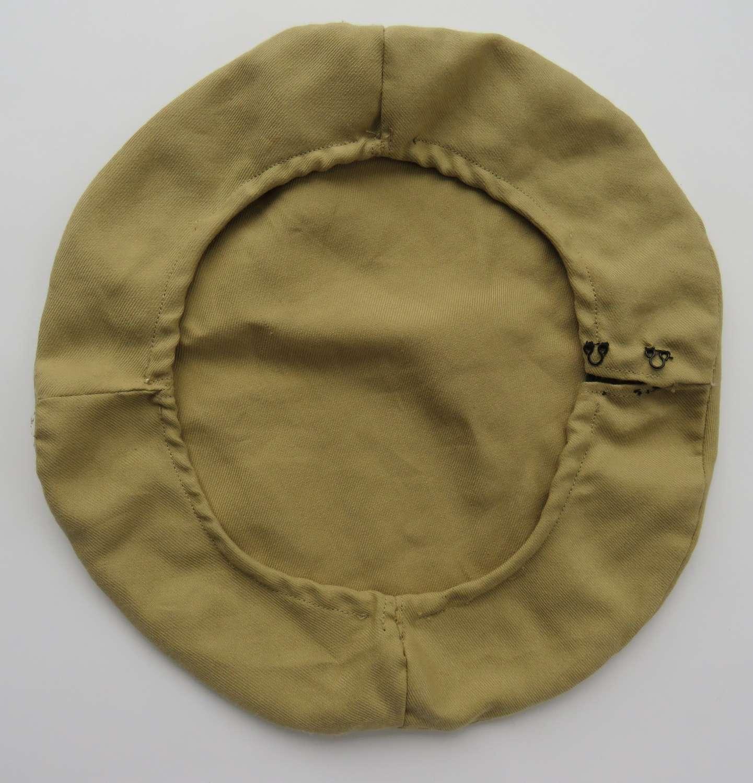 WW 1- WW 2 Officer Khaki Cap Cover