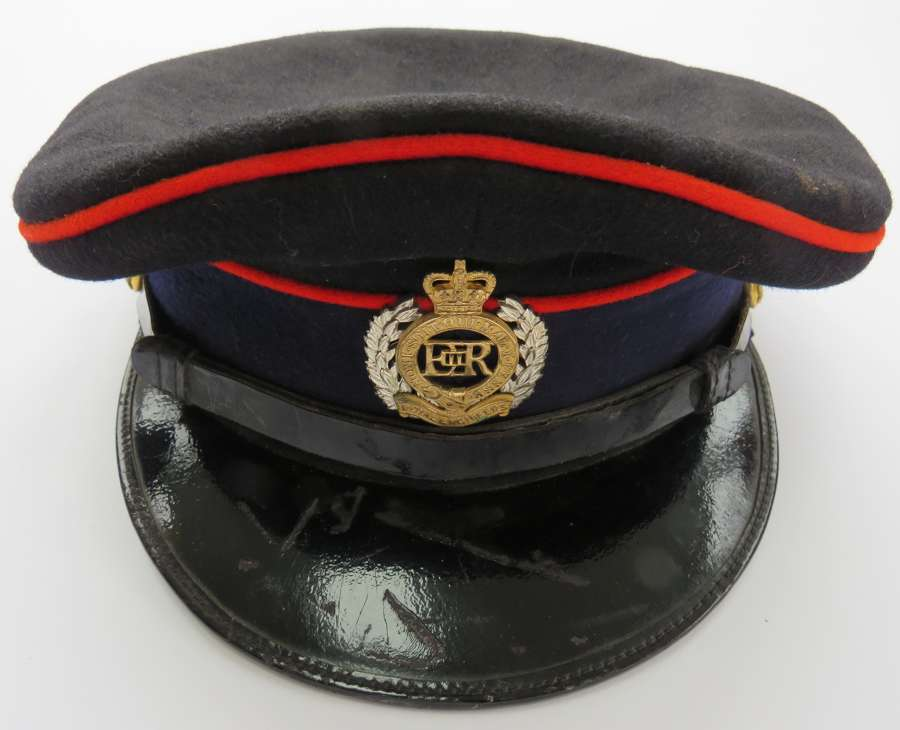 Post 1953 Royal Engineers Officers Dress Cap