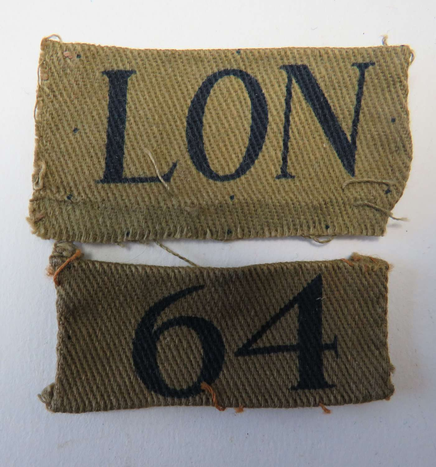 London 64 Home Guard Formation Badge