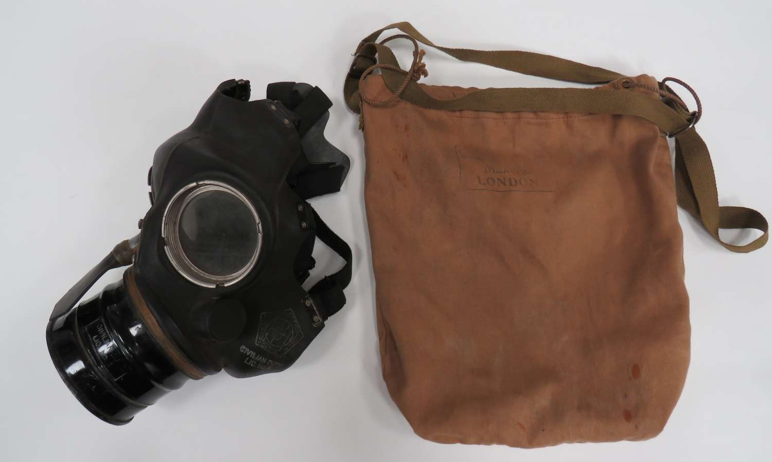 WW 2 Civil Defense Respirator