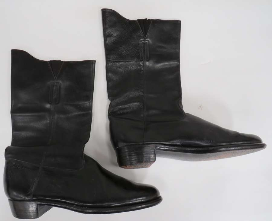 Pair of Officers Mess Dress Boots