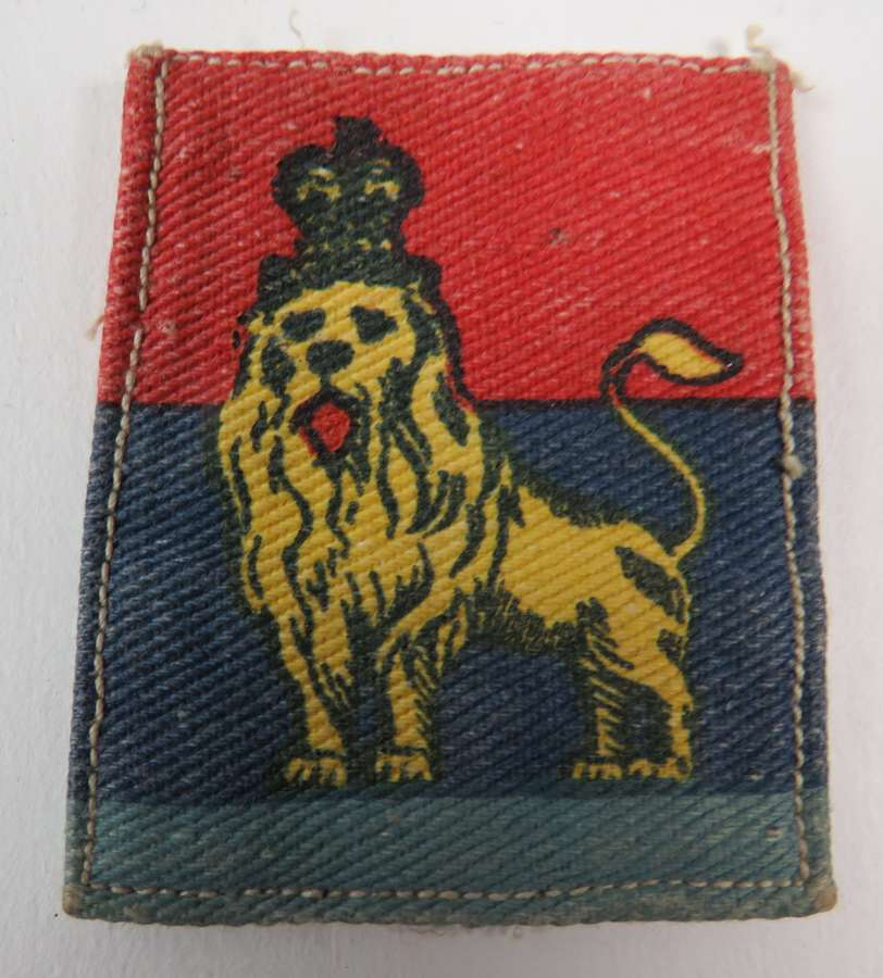 WW 2 British Troops Egypt Formation Badge
