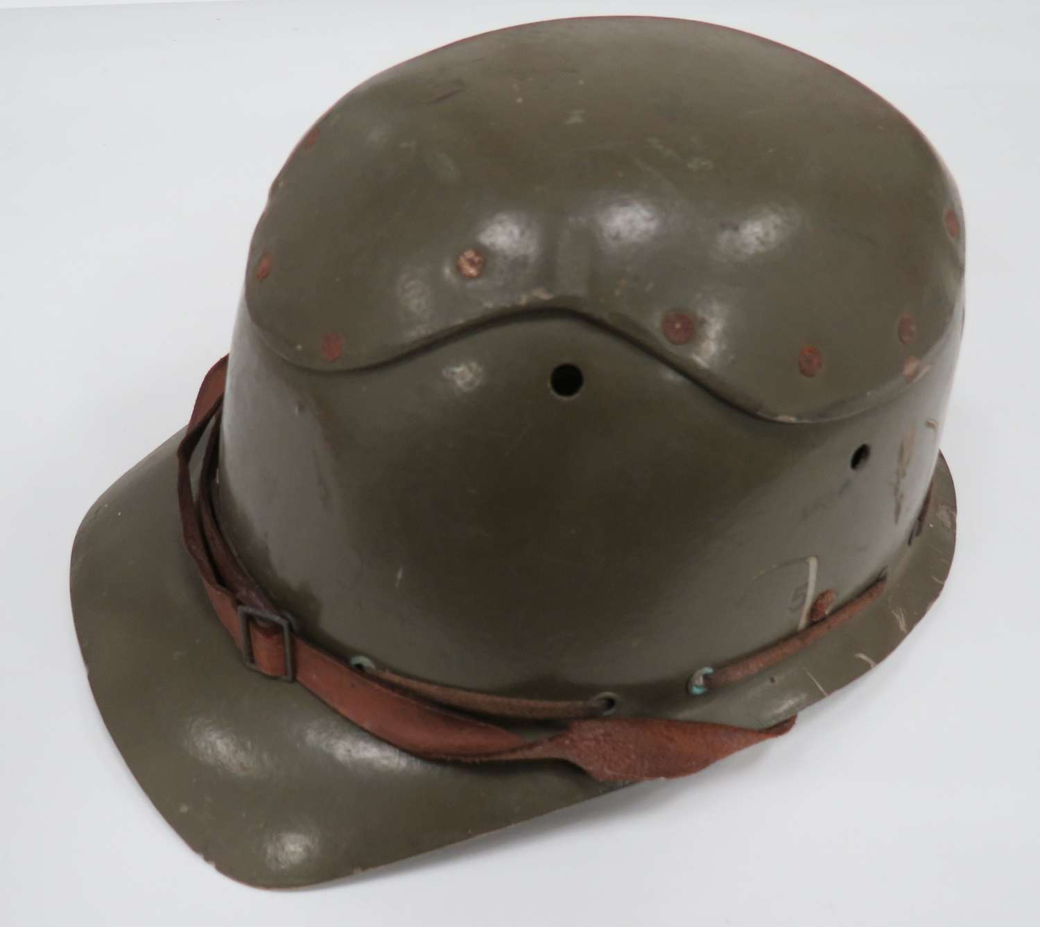 WW 2 Civil Defence Pattern Fibre Helmet
