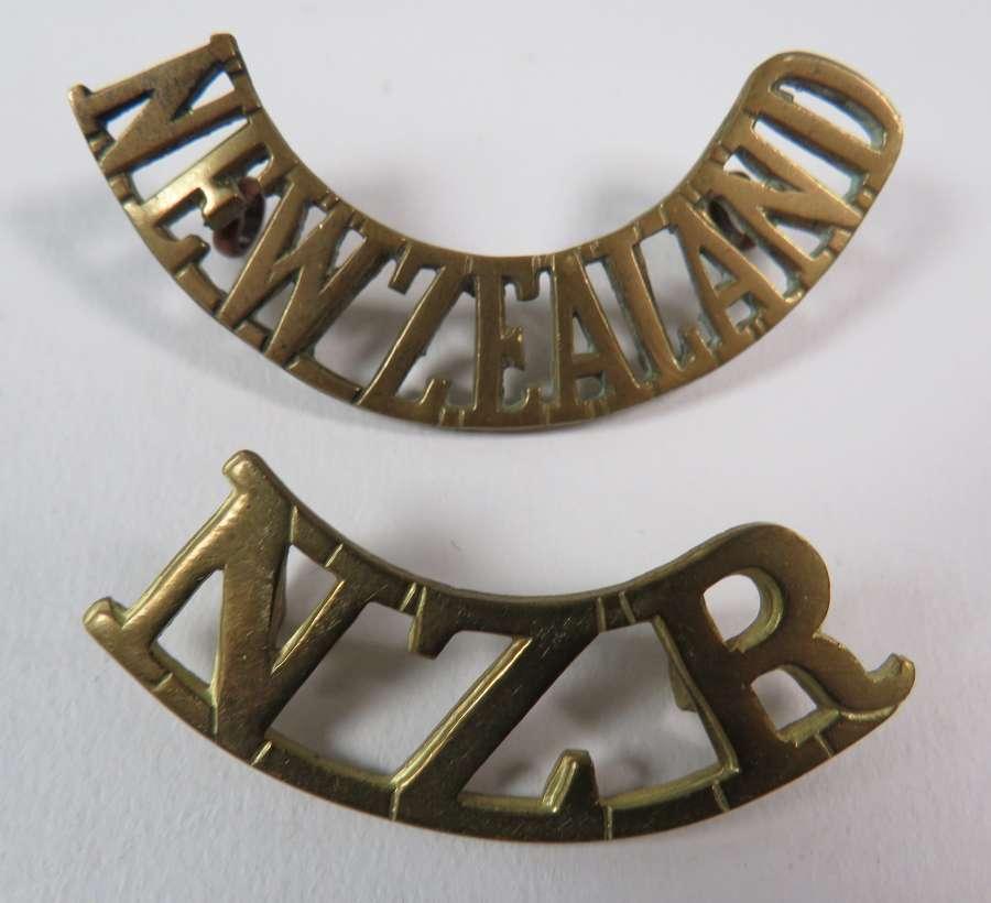 Two New Zealand Shoulder Titles