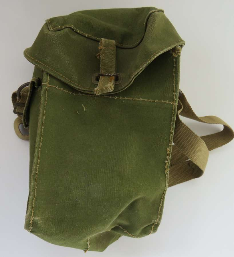 1943 Dated Parachute Pattern Light Respirator Case