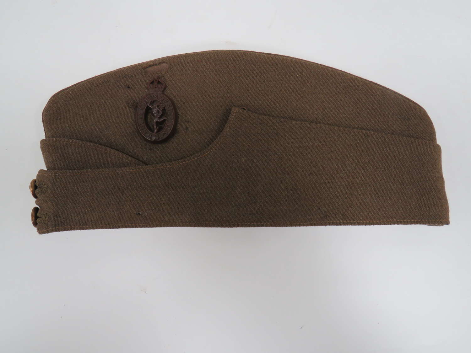 WW 2 Royal Corps of Signals Officers Named F/S Cap