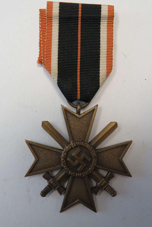 WW 2 German War Merit Cross with Swords