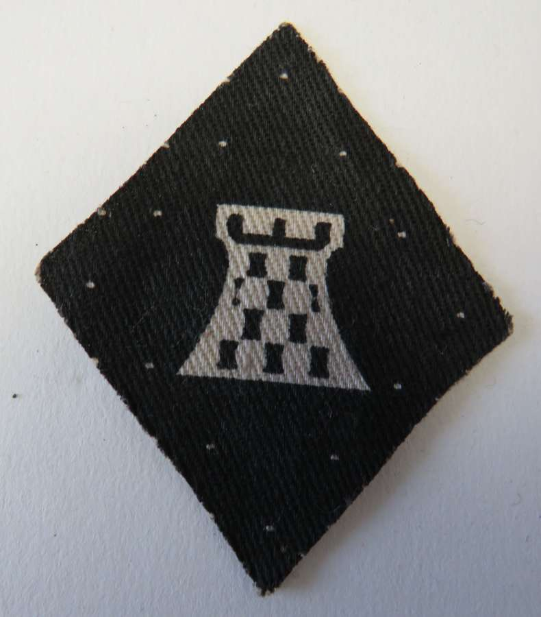 WW 2 British 11th Corps Formation Badge