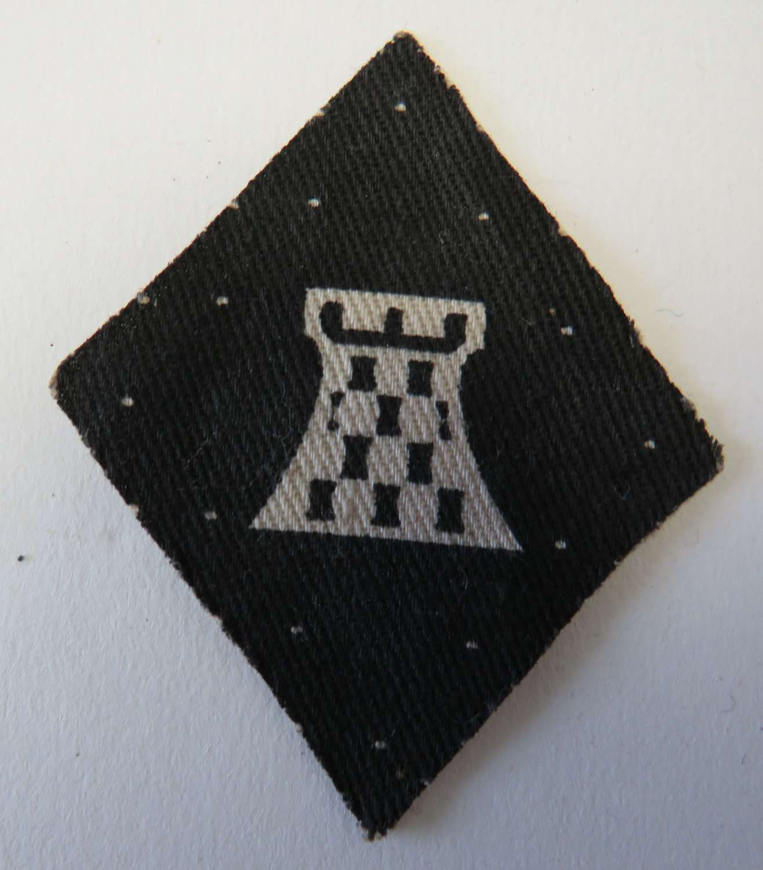 WW 2 British 11th Corps Formation Badge