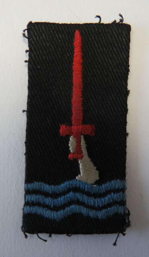 WW 2 British 77th Infantry Division Formation Badge
