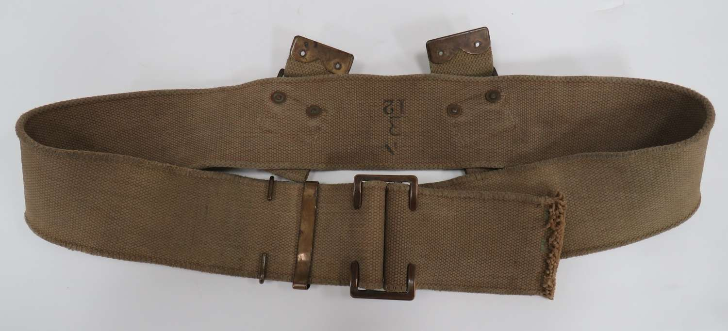 WW 1 Good Size 1908 Pattern Webbing Belt