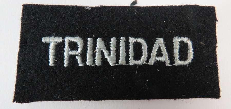 WW 2 R.A.F Trinidad Nationality Title