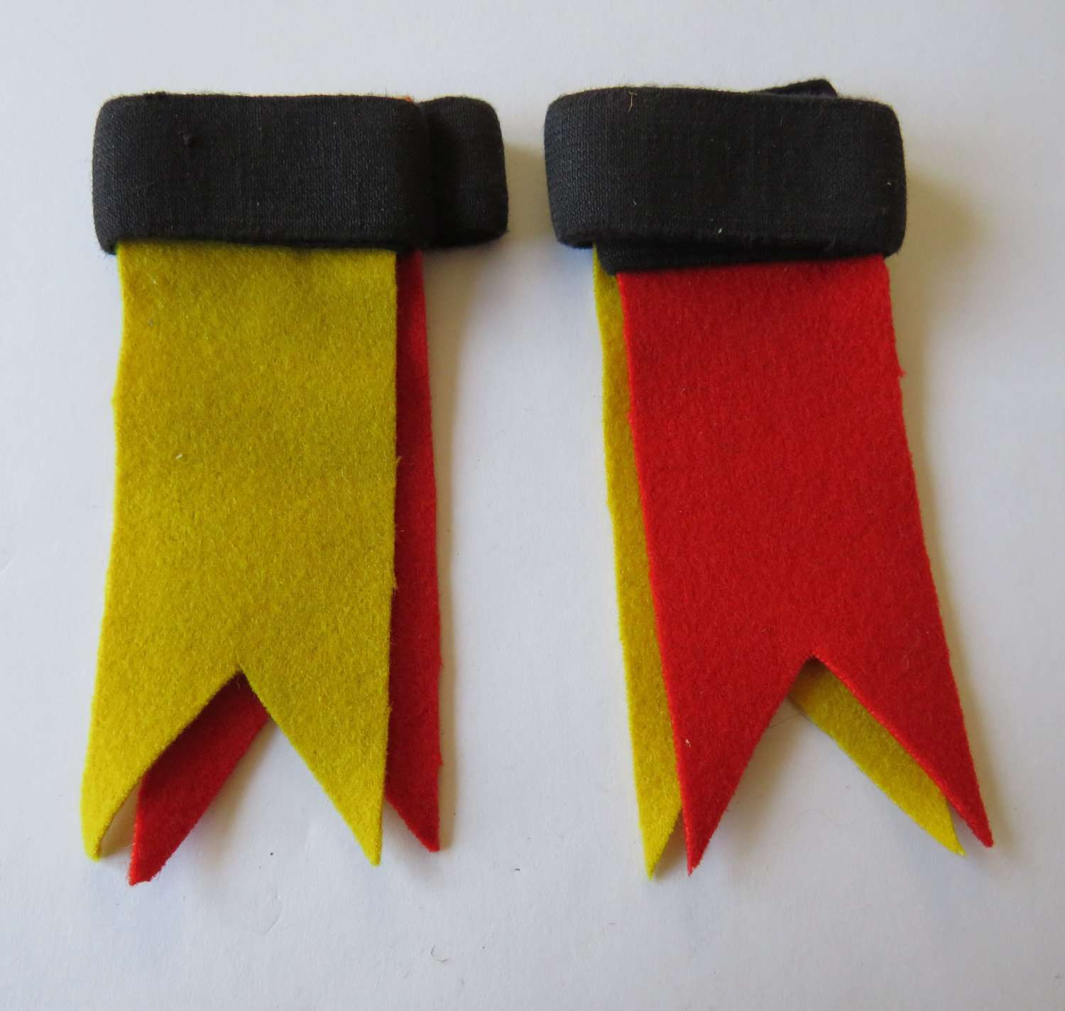 Pair Of Armoured Corps Sock Hose Tops