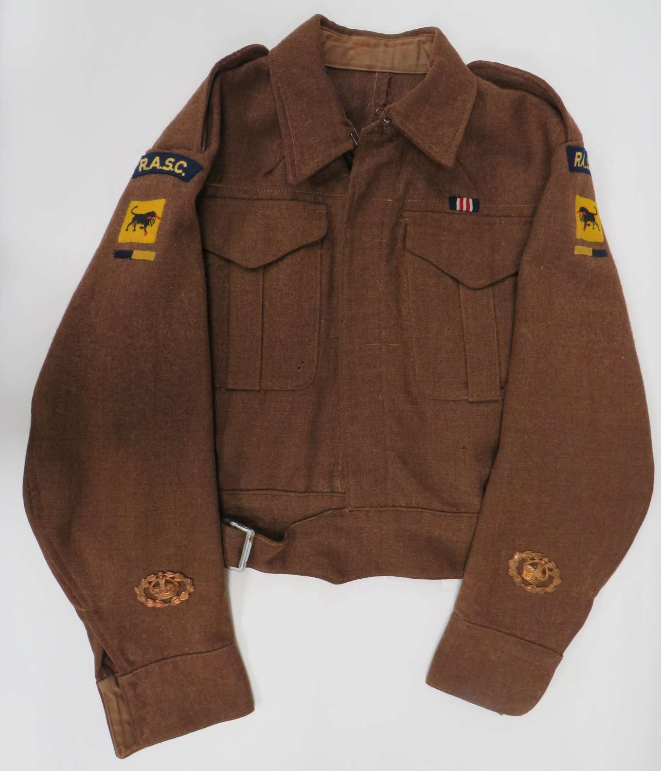 WW 2 R.A.S.C 11th Armoured Division Battle Dress Jacket